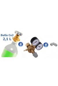 CO2 set - 2,1 litres cylinder