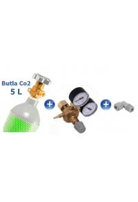 CO2 set - 5 litres cylinder